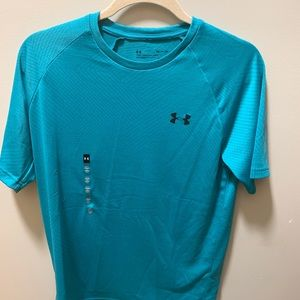 NWT Men's Teal Under Armour T-shirt